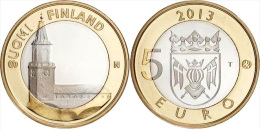 "FINLANDIA / FINLAND  5€  2.013  2013  BIMETÁLICA  SC/UNC   ""VARSINAIS""   T-DL-11.289 - Finlandía"