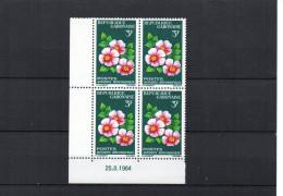 Gabon YT 175 XX / MNH Coin Daté 25.8.1964 - Gabon (1960-...)