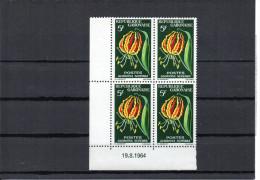 Gabon YT 176 XX / MNH Coin Daté 19.8.1964 - Gabon (1960-...)