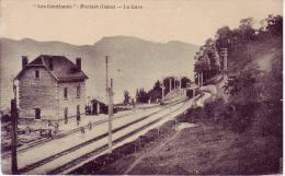 Pariset La Gare  Les Gentianes - France