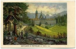 O.41.  Santuario Di PIETRALBA  - 1938 - Italy