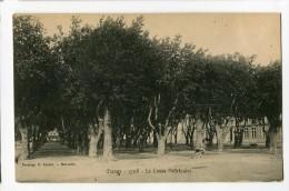 Ref 196 - ORANGE - Le Cours POURTOULES ( CARTE PIONNIERE ) - Orange