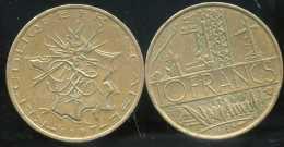 FRANCE 10  Francs MATHIEU  1987  (  Face  B ) - France