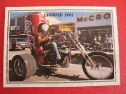 PANINI Super Moto, Chopper VII, N°195 - Edizione Francese