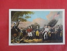 Surrender Of Burgoyne Saratoga  1777--- ----------ref 1773 - Historia