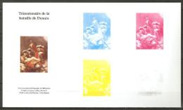 Vignette Epreuve Couleur Sans Valeur D'affranchissement Du Timbre Tricentenaire De La Bataille De Denain ** - Postdokumente