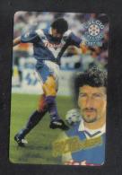 ITALY FOOTBALL  ATW  PHONECARD / 1997-8  / Dario Hubner  ( PANINI ) RARE - Non Classés