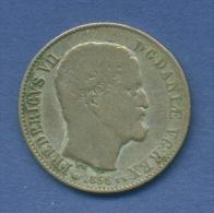 Dänemark 16 Skilling 1856 VS Frederik VII. KM 765 (m1064) - Dänemark