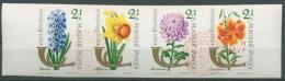 Ungarn 1963 Tag D.Briefmarke Blumen 1967/70 ZD B Gestempelt Geschnitten (C92785) - Ungarn