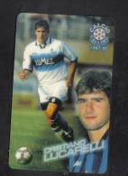ITALY FOOTBALL  ATW  PHONECARD / 1997-8  /  CRISTIANO LUCARELLI  ( PANINI ) RARE - Non Classés