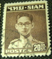 Siam 1947 King Bhumibol Adulyadej 20s - Used - Siam