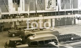 60s REAL PHOTO FIRE ENGINE POMPIER MAPUTO LOURENÇO MARQUES MOÇAMBIQUE MOZAMBIQUE AFRICA VIATURAS BOMBEIROS - Orte