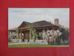 California> Los Angeles  Log Cabin West Adams Streetv-- ref 1774