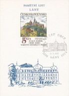 J0873 - Czechoslovakia (1992) Commemorative Sheet / Lany: 600 Years Of Village (Anniversary Of CSR) - Blocks & Sheetlets