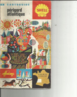 Carte Routières Offerte Par SCHELL Du Perigord--Atlantique ( Alain Cornic ) Format 23 X 14 - Callejero