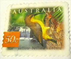 Australia 2003 Nature Of The Rainforest Yellow-bellied Sunbird 50c - Used - Oblitérés
