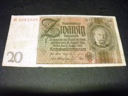 ALLEMAGNE 20 Reichsmark 22/01/1929,1924, Pick 181 A , GERMANY - 20 Reichsmark