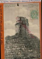 CPA  91 - MONTLHERY Ruines Du Chateau Fort - Le Donjon   AVR 2015  DIV  309 - Montlhery