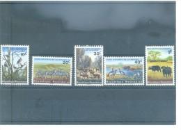 MAMÍFEROS - RWANDA 98/111 (5V) (2004) YVERT - 1990-99: Nuevos
