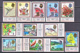 Trinidad & Tobago  144   *  (o)  FRUITS  AND  FLOWERS - Trinidad & Tobago (1962-...)