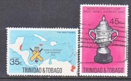 Trinidad & Tobago  260-1   (o)   CRICKET - Trinidad & Tobago (1962-...)