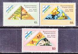 Trinidad & Tobago  345-7  *   MARINE  PRESERVATION - Trinidad & Tobago (1962-...)
