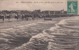 Cp , 62 , BERCK-PLAGE , Vue De La Plage, Côté Sud, Prise De La Mer - Berck