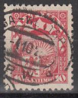 Latvia     Scott No   118   Used    Year  1923 - Latvia