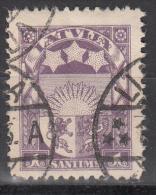 Latvia     Scott No   135     Used    Year  1927 - Lettland