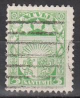 Latvia     Scott No   140     Used    Year  1927 - Lettland