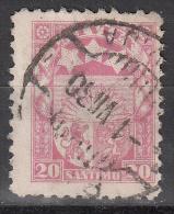 Latvia     Scott No   147    Used    Year  1927 - Lettland