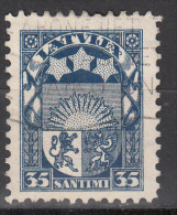 Latvia     Scott No   149    Used    Year  1927 - Lettland