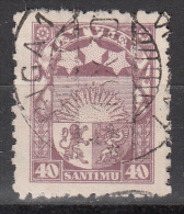 Latvia     Scott No   150    Used    Year  1927 - Lettland