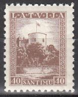 Latvia     Scott No   179   Unused Hinged   Year  1934 - Lettland