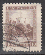 Latvia     Scott No   179   Used   Year  1934 - Lettland