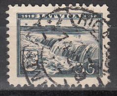 Latvia     Scott No   205     Used   Year  1938 - Lettland