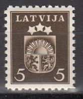 Latvia     Scott No   220     Mnh   Year  1940 - Lettland