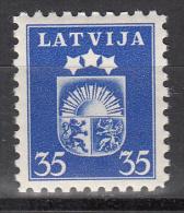 Latvia     Scott No   226     Unused Hinged    Year  1940 - Lettland
