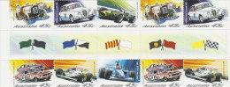 Australia 2001 Racing Cars Gutter Strip - Cars