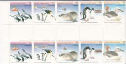 Australian Antarctic Territory 1988 Environment Gutter Strip MNH - Unused Stamps