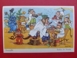 ROB VEL  SALON DE BEAUTE - Künstlerkarten