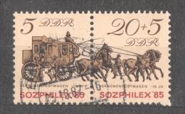 50-813 // DDR - 1985  SOZPHILEX   Mi 2965/66 O - DDR