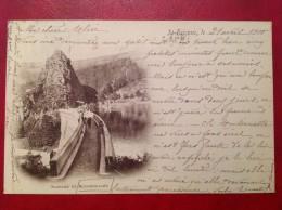42 Loire ROCHETAILLEE Barrage De Rochetaillée + Cad St Etienne Sur Sage 1900 - Rochetaillee
