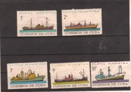 CUBA - Bateaux