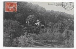(RECTO / VERSO) ECHENOZ LA MELINE EN 1910 - CHALET DE SOLBORDE - Altri Comuni