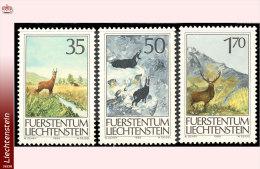 Liechtenstein 0848/50**  Animaux De Chasse  MNH - Faciale: 2.55 FS - Liechtenstein
