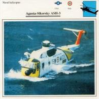 AUGUSTA- SIKORSKY  ASH 3  2 SCAN    (NUOVO CON DESCRIZIONE E SCHEDA TECNICA) - Elicotteri