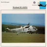 WESTLAND  SEA  KING     2 SCAN     (NUOVO CON DESCRIZIONE E SCHEDA TECNICA) - Elicotteri