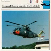 EUROPEAN  HELICOPTER INDUSTRIES  EH.101 MERLIN    2 SCAN      (NUOVO CON DESCRIZIONE E SCHEDA TECNICA) - Elicotteri
