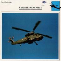 KAMAN  H-2  SEASPRITE   2SCAN     (NUOVO CON DESCRIZIONE E SCHEDA TECNICA) - Elicotteri